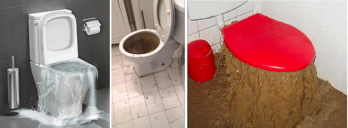 verstopt wc (toilet) in BenedenLeeuwen/ Brabant Noord ontstoppen